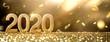 Leinwanddruck Bild - Happy New Year 2020