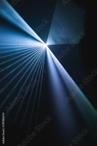 Fototapety, obrazy: Vertical lens flare shot with beautiful textures - great for a cool wallpaper or background