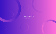 Dynamic Purple Background With Abstract Shape