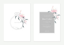 Flowers And Foliage Wedding In...