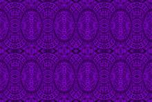 Textured African Fabric, Purpl...