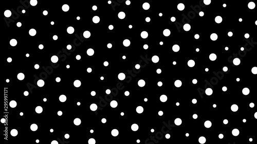 Abstract kawaii pattern Circle background. Soft gradient pastel. Concept for wedding card design or presentation - 295997171