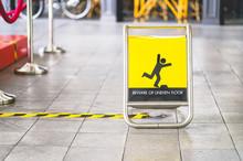 Yellow Beware Of Uneven Floor ...