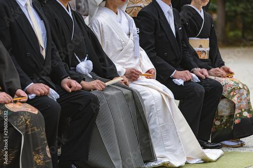 Fototapeta  神前結婚式の風景