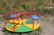 Abandoned Playground In The Vi...