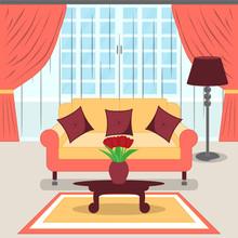 Cute Living Room Interior Desi...