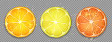 Slice Of Citrus Fruit Lemon, O...