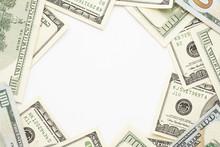 Hundred Dollar Bills Frame