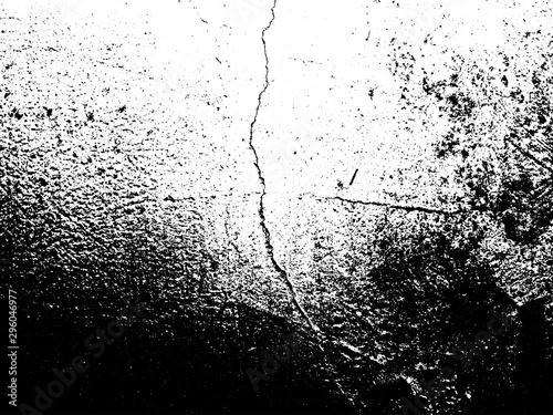 Fotografía  Cracked Grunge Wall Texture