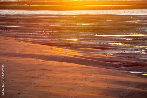 Fotografiet Findhorn Scottish Sunset