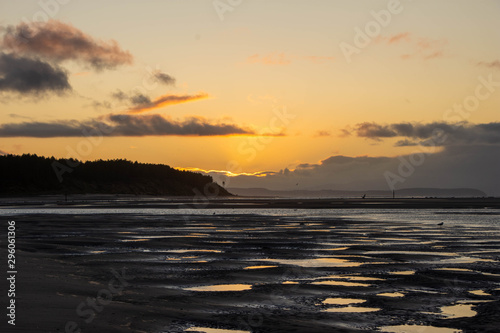 Photo Scottish Sunset - Findhorn