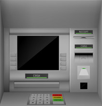 Atm Screen, Automated Teller M...