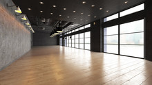 Large Open Empty Space With Co...