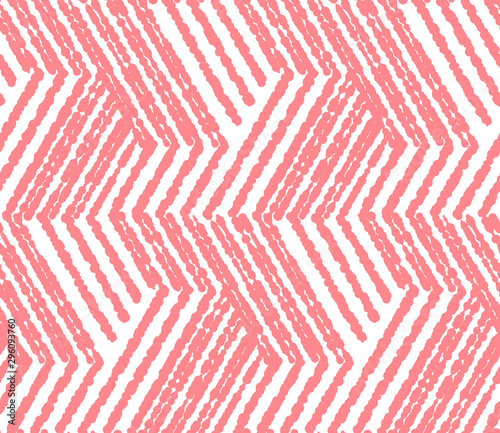 Fotografie, Obraz Abstract geometric pattern with stripes, lines