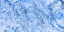 Gefrorenes Eis Im Winter