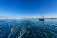Sailing Yachts Off Athens