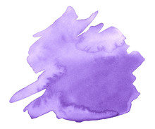 Lilac Watercolor Is A Trend Co...