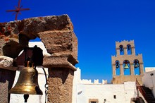 The Monastery Of St. John The Theologian. Patmos Island, Dodecanese Islands, Greece.