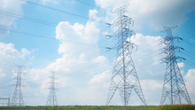 Power Pylons And High Voltage ...