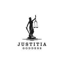 Lady Justice, Justitia Goddess...