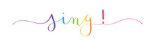 SING! Vector Brush Calligraphy...