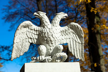Double-headed Eagle Sculpture, A Symbol Of The Russian Empire