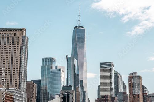 Montage in der Fensternische Shanghai New York city, Amazing New York architecture image, Manhattan architecture photography, big apple city image