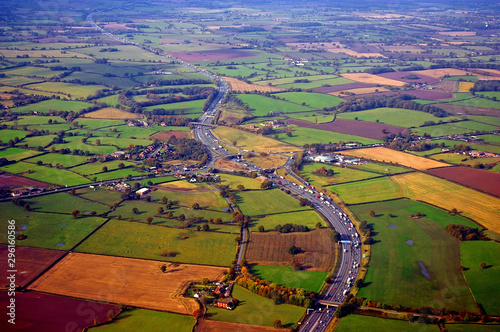 Fototapeta Manchester Motorway in the UK obraz