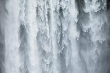 U blizini vodopada Skogafoss na Islandu, Europa.