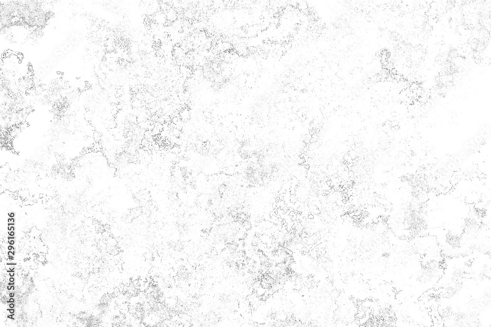 Fototapeta Black noise on a white background