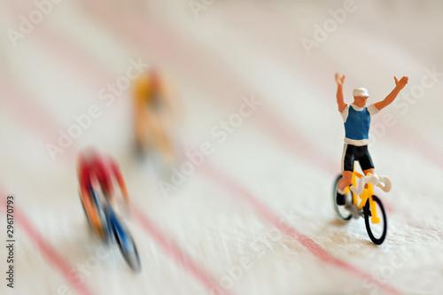 Fotografiet  winning race