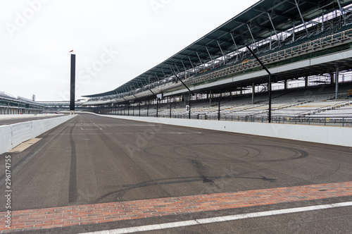 Valokuva The yard of bricks in Indianapolis Motor Speedway