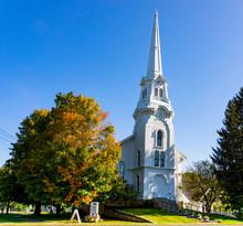 Classic New England White Chur...