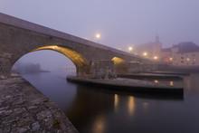 The Stone Bridge In The Bavari...