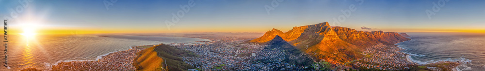 Fototapety, obrazy: Cape Town aerial view