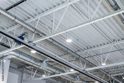 Obraz lighting industry - warehouse - fototapety do salonu