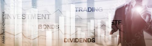 Photo Bonds dividends concept