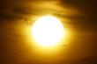 solar disk malaga andalucia spain