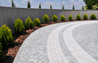 Design of landscaping in the garden, park, square, recreation area