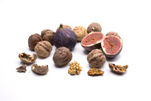 Walnuts And Figs Of Autumn Des...