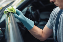 Partial View Of Car Cleaner Wi...