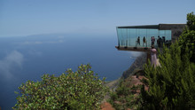 Agulo Desde El Mirador De Abrante, La Gomera, Islas Canarias, España