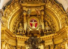 Christ Statue Basilica Altar S...