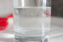 A Glass Of City Tap Water With...