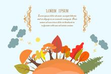 Lightning, Hill, Autumn, Tree ...