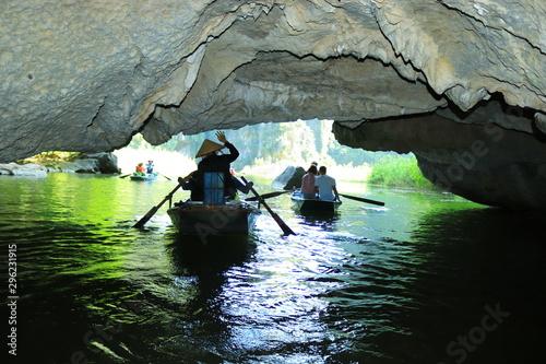 Fotografie, Tablou  Tam Coc tourist area in Ninh Binh province