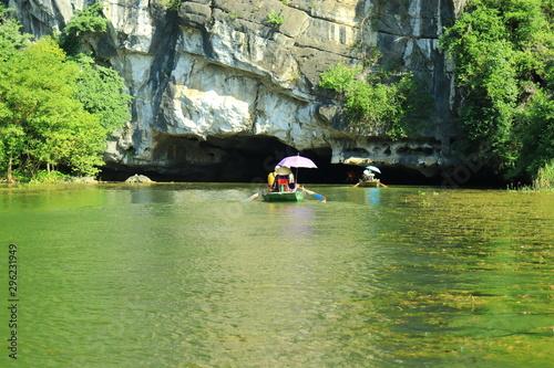 Valokuvatapetti Tam Coc tourist area in Ninh Binh province