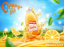 Fresh Orange Juice Ads