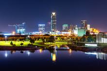 Oklahoma City At Night