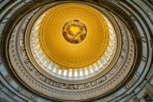 US Capitol Dome Rotunda Apothesis Washington DC